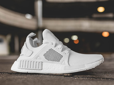 d545048fbaaa9 ADIDAS NMD XR1 PK Primeknit BY9922 Triple White Originals Mens ...