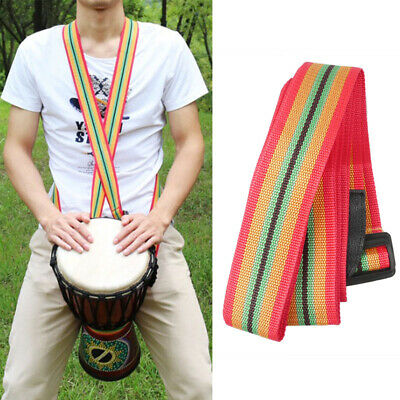 Nylon Durable Djembe Strap African Hand Drums Shoulder Strap Percussion Belt
