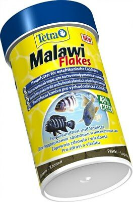 Tetra Malawi flakes Food for all Cichlids 100ml 250ml 1000ml
