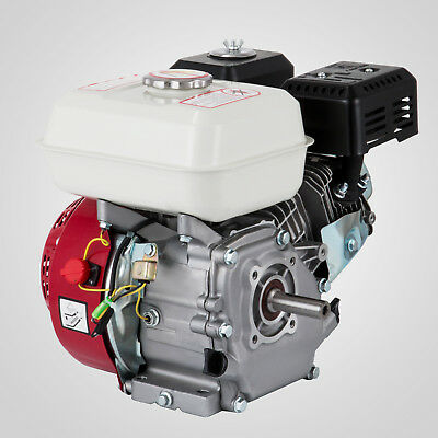 6.5HP Petrol Stationary Engine 4 Stroke Horizontal Shaft 3600rpm AU Start Recoil