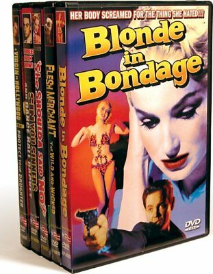 Vintage Exploitation: Blonde In Bondage (1957) / Flesh Merchant (1955) NEW DVD