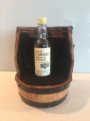 Johnnie Walker Cardhu 12 Year Old Very Rare 50mls With Display Stand