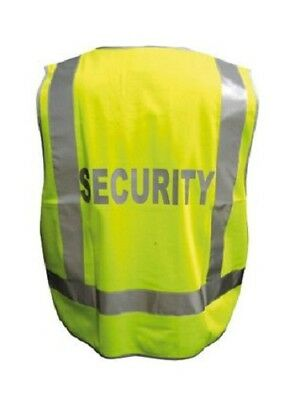 Security Day and Night retroreflective tape Vest