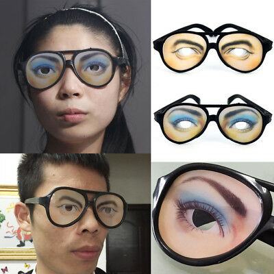 Funny Eyes Glasses Funny Specks Shape Changing Fancy Shades Stag Party Joke New
