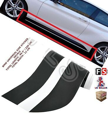 Bmw 5 Series F10/11 E60/61 M Performance Side Sticker Skirt Decal Vinyl Graphics