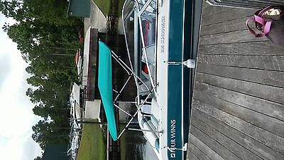 Summer Set bimini top 7 oz Teal in color 36Hx72Lx 79-84 wide with extras