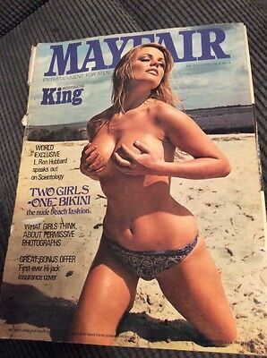 Mayfair Mens Adult Glamour Magazine Vol 5 No 6