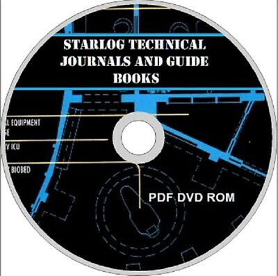 STARLOG Technical Journals & Guidebooks PDF on DVD STAR TREK STAR WARS SCI FI