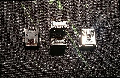 Usb Mini-B SMD Connector PCB Sockets