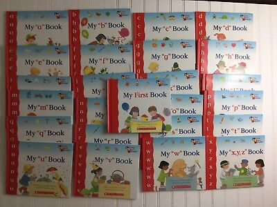 Scholastic My First Steps to Reading Book Series A-XYZ Hardcover