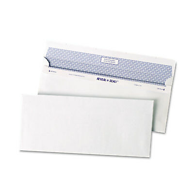 Quality Park Reveal N Seal Business Envelope #10 4 1/8 x 9 1/2 White 500/Box