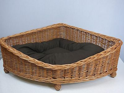 Prestige Wicker Willow Pet Corner Basket, Medium 65X 85CM