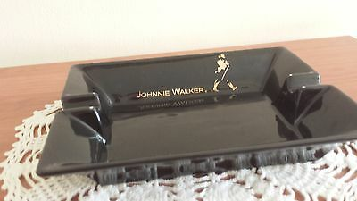 Johnnie Walker  Promotional Ceramic Ashtray. Rare, Collectible