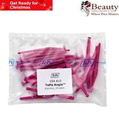 TePe Angle Pink 0.4mm Interdental Brush - Pack of 25 Brushes