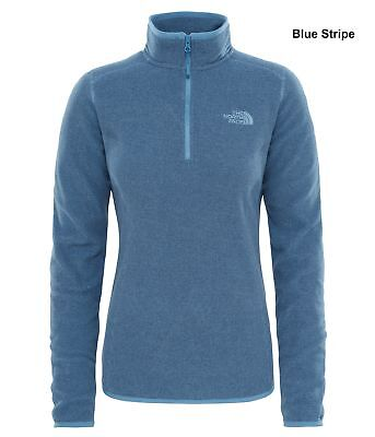 The North Face Womens 100 Glacier 1/4 Zip Pullover Fleece