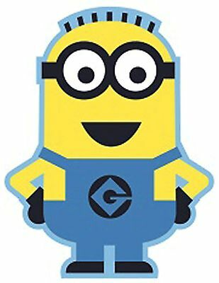 Minion Bob Despicable Me Shaped Rug Mat Kids Boys Girls Character Bedroom 80x100