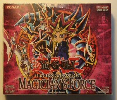 Yu-Gi-Oh Display Box Magician´s Force English 24 Booster sealed MFC #2
