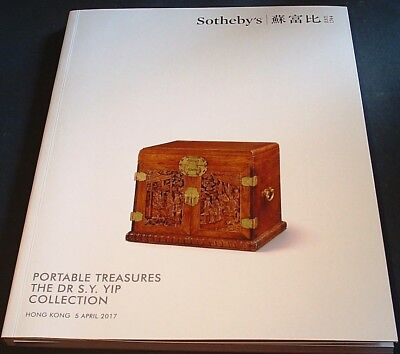 CHINESE PORTABLE FURNITURE: Sotheby's HK 17 +results