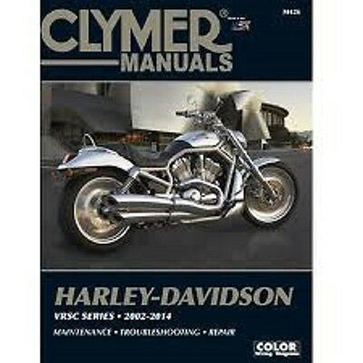 Harley-Davidson V-Rod V Rod Night Rod VRSC Series 2002-2014 Clymer Manual M426
