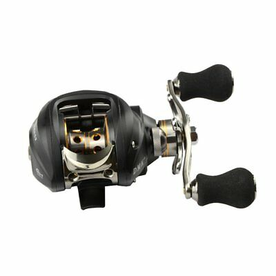 DMK 12BB 6.3:1 Right Hand Bait Casting Fishing Reel 11 Ball Bearings + One- F5M3