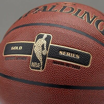 Spalding NBA Gold Series Basketball Indoor & Outdoor Streetball