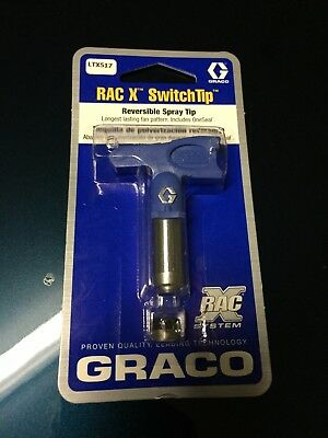 Graco Rac X Switch Tip ltx 517  ltx517 spray tip
