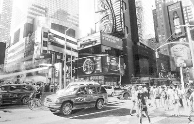 New York 4: Original Pencil Sketch of New York on paper by Paul Cadden