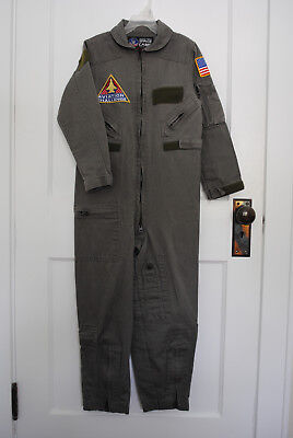 Genuine Space Camp Flight Suit Kid's Size 12 Coveralls