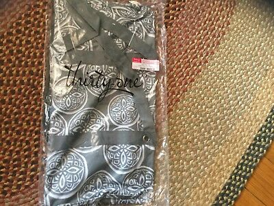 THIRTYONE Thirty One 31 Gifts Large UTILITY TOTE-WOODBLOCK WHIMSY- BRAND NEW