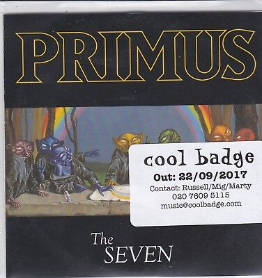 Primus The Seven Rare 1 Track Promo Cd