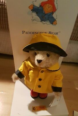 Steiff Paddington Bear in Yellow Rain Mac, Boxed - Limited Edition