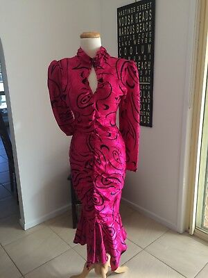 Vintage 80's PROM dress DYNASTY PARTY cocktail HENS bridesmaid FORMAL