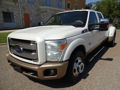 2012 Ford F-350 King Ranch 2012 Ford F350 Superduty Kingranch Crew Cab 4x4 6.7L Powerstroke Turbo Diesel