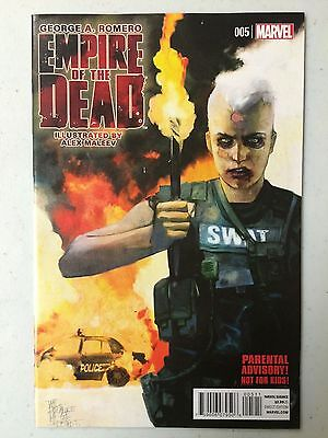 Empire of the Dead Act One #5 Marvel 1st Print George A Romero Alex Maleev 2014