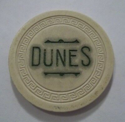 Xxx Rare Dunes Club Poker Chip Pittman ~ Las Vegas Area ~ Nevada Xxx