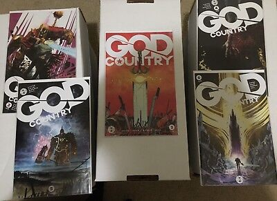 GOD COUNTRY 2b 3 4 5 6 iMAGE 1st print comic set lot