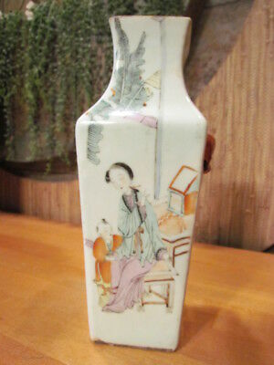 Antique Chinese Vase Asian Pottery Ceramic