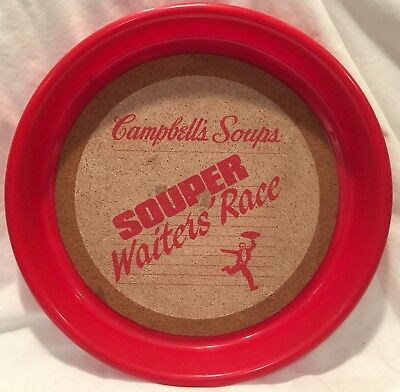 Rare, Older, special promotion, Advertising, Campbell's Soup Serving Tray, Diner
