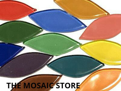 Mixed Crystal Glass Petals - Mosaic Art Craft Supplies