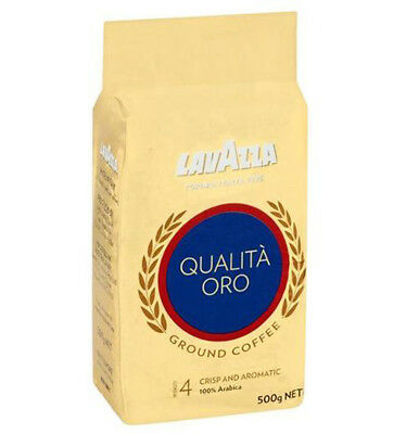 Lavazza Qualita Oro Coffee Ground 500gm