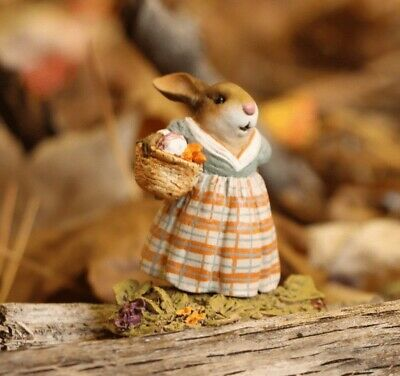 Wee Forest Folk Thanksgiving - Mrs. Harvest Bunny B-19