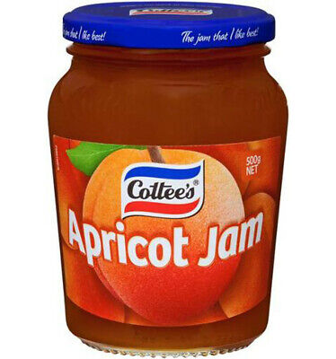 Cottee's Apricot Jam 500gm