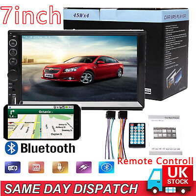 "Double 6.2"" 2Din Car Radio Cd Dvd Player Stereo Bluetooth Usb Sd Fm Touch Screen"