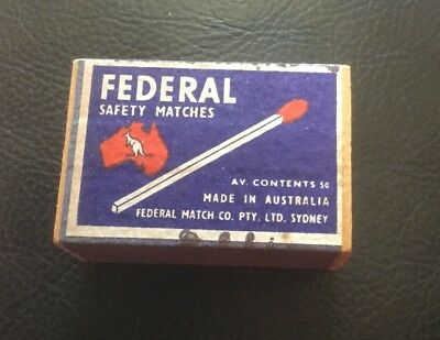 Collectable Matches - Federal Safety Matches