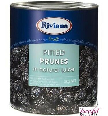 Riviana Foods Pitted Prunes 3kg