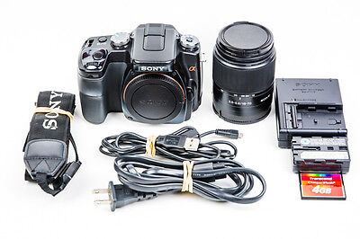 Sony Alpha A100 10.2MP Digital SLR Camera Kit with 18-70mm f3.5-5.6 Lens #4203