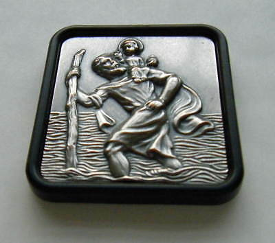 St Christopher Car Dash Badge Brand New