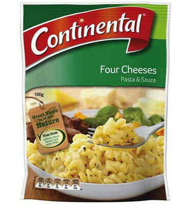 Continental Four Cheeses Pasta & Sauce 100gm