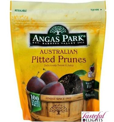 Angas Park Pitted Prunes 250gm