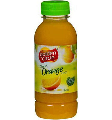 Golden Circle Classic Orange Juice 350ml x 12